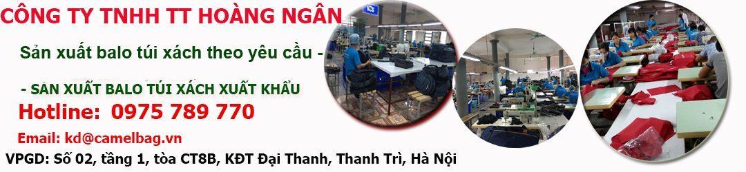 Công ty sản xuất balo túi xách - 0975.789.770
